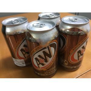 米国産A&Wルートビア12本(@355ml)14種類以上のハーブで独特の香り・味  【炭酸飲料 ノン...