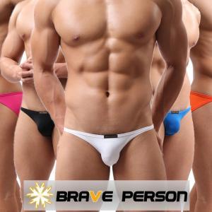 メンズビキニ下着 Brave Person ブレイブパーソン 男性ビキニ S,M,L全サイズ有り (bp04 男性下着)|mensrunway