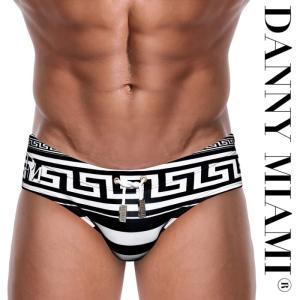 男性水着 メンズスイムウェア 競泳パンツ ビキニタイプ ブーメラン Danny Miami ダニーマイアミ Greek God Dkini(dm-s07greekgod) mensrunway