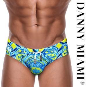 男性水着 メンズスイムウェア 競泳パンツ ビキニタイプ ブーメラン Danny Miami ダニーマイアミ Lord Lime Dkini(dm-s11lordlimedk) mensrunway
