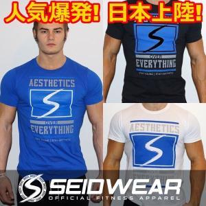 トレーニングウェア・ジムウェア・ランニングウェア Tシャツ Seid Wear セイドウェア Aesthetics over Everything  (sw_shrt_aoe)|mensrunway