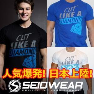 トレーニングウェア・ジムウェア・ランニングウェア Tシャツ Seid Wear セイドウェア Cut Like a Diamond  (sw_shrt_dmnd)|mensrunway
