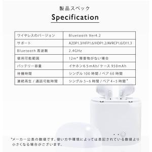 ワイヤレスイヤホン 充電ケース付き Bluetooth イヤホン 片耳 両耳 2WAY スポーツ ランニング iphone android スマホイヤホン|menstrend|10
