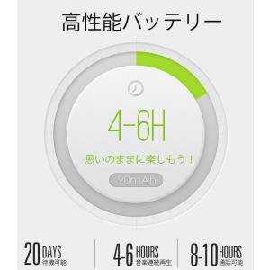 ワイヤレスイヤホン bluetooth ブルートゥース イヤホン 骨伝導 片耳タイプ iPhone android アンドロイド スマホ 高音質 音楽 耳かけ型|menstrend|06