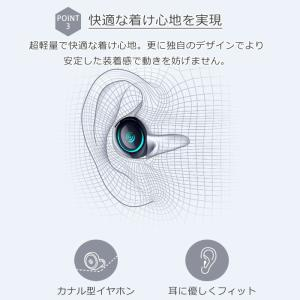 ワイヤレスイヤホン bluetooth 4.1 ブルートゥース イヤホン カナル型 iPhone android アンドロイド スマホ 高音質 音楽 menstrend 04