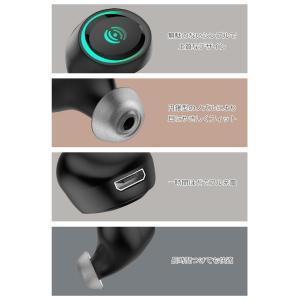 ワイヤレスイヤホン bluetooth 4.1 ブルートゥース イヤホン カナル型 iPhone android アンドロイド スマホ 高音質 音楽 menstrend 07