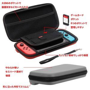 Nintendo Switch セミ ハード ケース セパレート 任天堂 スイッチ ニンテンドー スイッチ用 キャリング 保護 カバー menstrend 02