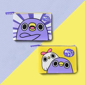 めんトリ カード入れ付きコインケース|mentori