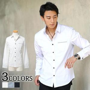 シャツ カジュアルシャツ メンズ クールマックス素材ブロードストレッチシャツ menz-style
