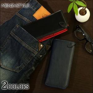 財布 メンズ ウォレット パスケース付きロングウォレット menz-style