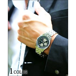 腕時計 メンズ 時計 ロイヤルクラウンデザインウォッチ|menz-style