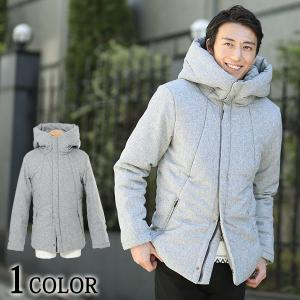 送料無料 中綿ジャケット ジャケット ビッグフードデザイン中綿ジャケット