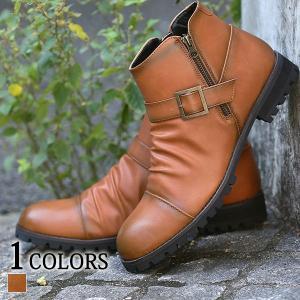 ブーツ メンズ チャカブーツ ショートブーツ サイドジップ 靴 おしゃれ 20代 30代 40代 50代 メンズスタイル menz-style 大きいサイズ|menz-style