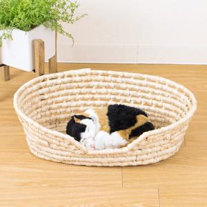 メイズ製ペット用ベッドバスケット/天然素材|mercadomercado