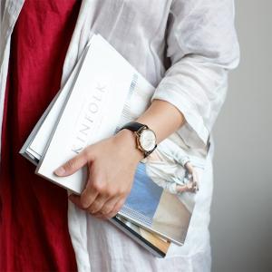 CIRCA 腕時計 丸型ウォッチ ゴールド クオーツ 生活防水 CT114|mercato-y