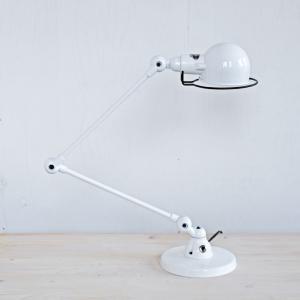 ジェルデ スチールデスクランプ JIELDE ホワイト フランス France 照明 デスクライト|mercato-y