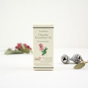 美健 BIKEN La Fleur ラ・フルール オーガニック エッセンシャルオイル M ゼラニウム|mercato-y