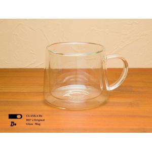 ★CLASKA クラスカ DO ドーのグラスマグ ダブルウォール(ガラス/マグカップ/二層構造/耐熱/保温/保冷)