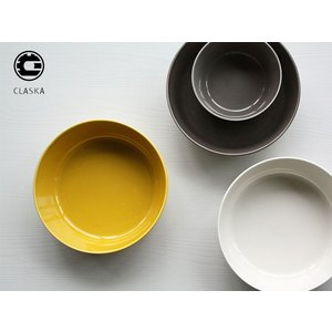 CLASKA/クラスカ DO/ドーボウル お皿 イエロー/グレー/ホワイト(磁器/食器/ポット//黄/グレー/白/ブランド)|mercato-y