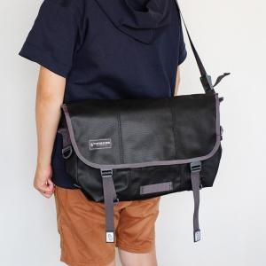 TIMBUK2 Classic Messenger Bag M Heirloom Black|mercato-y
