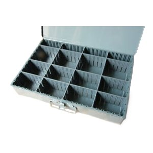 ☆DURHAM(ダーム)  仕切りツールボックス 可動式仕切り(縦仕切り板・横仕切り板可動) L|mercato-y