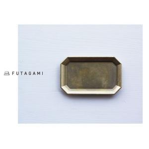 FUTAGAMI フタガミ 真鍮トレー M サイズ 文具トレイ ペントレイ|mercato-y
