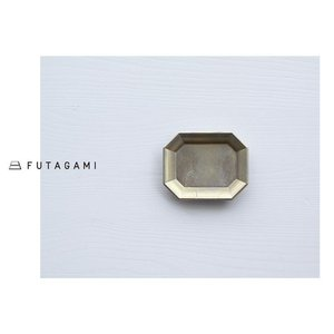 FUTAGAMI フタガミ 真鍮トレー S サイズ 文具トレイ トレイ|mercato-y
