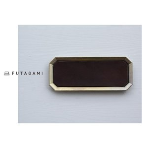 FUTAGAMI フタガミ 真鍮トレー用レザーマット L サイズ 革|mercato-y