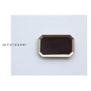 FUTAGAMI フタガミ 真鍮トレー用レザーマット M サイズ 革|mercato-y