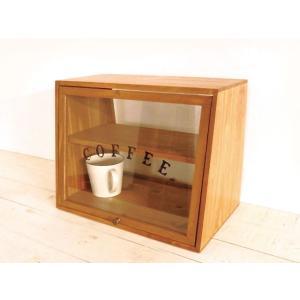パインキッチンラック coffee コーヒー ロゴ クレエ 91600088 1段 棚 ラツク 調味...