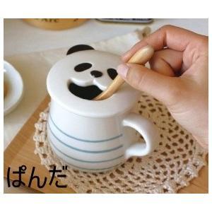 ( DECOLE / デコレ ) スマイリングマグ ぱんだ ねこ くま マグカップ マグ 陶器 コップ キッチン 雑貨 ナチュラル かわいい おしゃれ 食器 台所|merci-p
