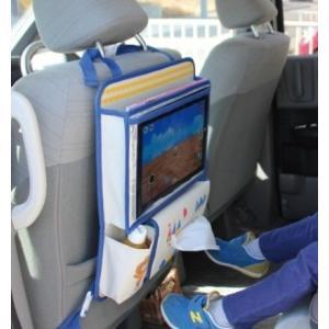 ( DECOLE / デコレ ) aurinko アウリンコ タブレットポケット付き ドライブポケット くま うさぎ おしゃれ かわいい 車内の収納 おでかけポケット タブレット|merci-p