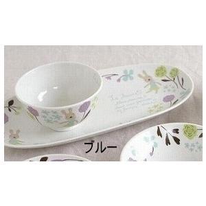le sucre ル シュクル 和食器 焼物皿 ブルー ピンク 角皿 長皿 焼物皿 魚皿 さんま皿 子供 こども キッズ|merci-p