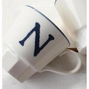 アルファベマグ 全18種 A C D E F G H I J K M N R S T U W Y マグカップ マグ イニシャルマグ 日本製