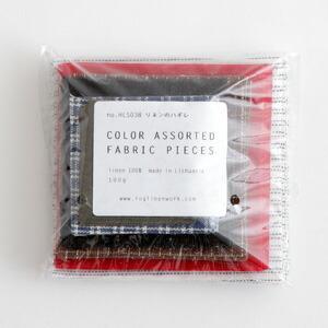 さまざまな幅や色柄のリネンテープのはぎれが100g入ったセットのご紹介です。  手作りの材料としてい...