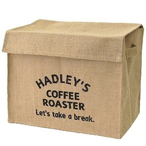 ジュート ハドレー Hadley 新聞ストッカー ホワイト ブラック 収納ボックス|収納ケース|新聞ストッカー|収納|押入れ収納|新聞