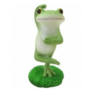 コポー ヒェーコポタロウ 置物 小物 オブジェ カエル 置き物  蛙 フロッグ FROG 71316|merci-p