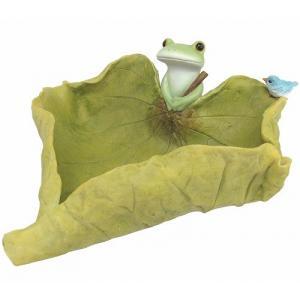 コポー カエルと葉っぱトレー 小物入れ カエル 蛙 フロッグ...