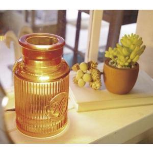 バイアル アロマランプ アンティーク ROMA LAMP  FLAMME  テーブルランプ テーブルライト アロマランプ アロマライト 間接照明 照明 卓上|merci-p