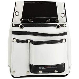 582502 DTL-07-WH DBLTACT 本革腰袋 ホワイト|merciteam