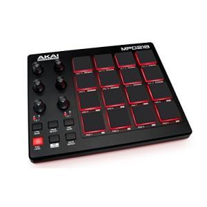 Akai Professional USB MIDIコントローラー 16パッド 音源ソフト付属 MPD218|merciteam