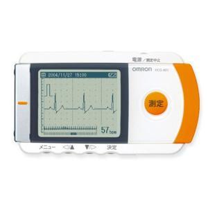 携帯型心電計 HCG-801 オムロン【返品不可】|MeReCare-y(メリケア)