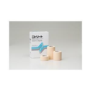 【在庫処分】ニトリートEBHテープ 2.5cmx4.5m EBH-25 伸縮テープ バンデージ 1箱12巻 日東メディカル|merecare