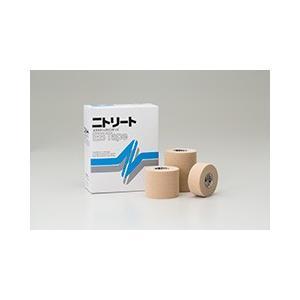 【在庫処分】ニトリートEBテープ 2.5cmx4m EB-25 伸縮テープ バンデージ 1箱12巻 日東メディカル|merecare