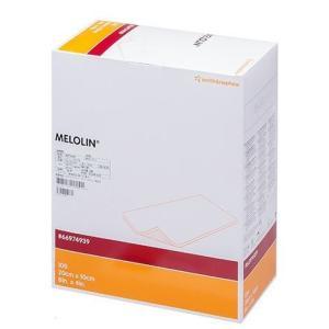 非固着性ドレッシング メロリン(滅菌済) 10x20cm 100枚/箱 S&N スミスアンドネフュー【条件付返品可】