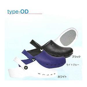 【在庫処分】suecosシューズ(スエコス) TYPE-OD(ODEN) ブルー(24.5cm) 20021|merecare