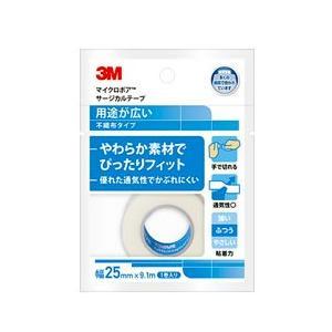 3M マイクロポアサージカルテープ 不織布(白) 1530EP-1 25mmx9.1m 1巻 スリーエムヘルスケア【医療用】【サージカルテープ】【条件付返品可】
