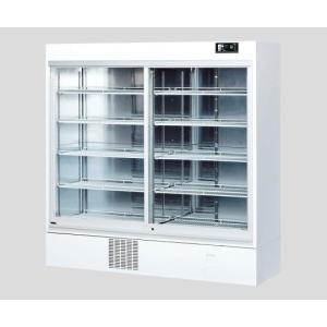 薬用冷蔵ショーケース 1002L スライドラック(カードホルダー付) IMS-1198-RA 1台 アズワン