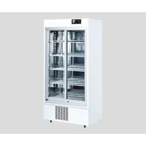 薬用冷蔵ショーケース 550L スライドラック(カードホルダー付) IMS-552-RA 1台 【大...