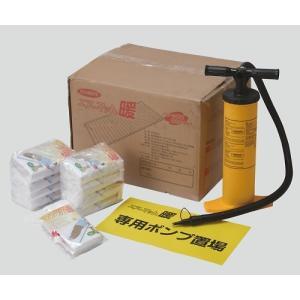 ●専用ポンプを使用して、約1分でマットのセッティングができます。●断熱効果が高く、床面からの冷気を遮...